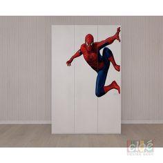 Dulap pentru copii cu trei usi Spider Man