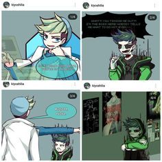 Jack is used to dealing with his normal alter egos but what happens w… Septiplier Comic, Septiplier Fanart, Youtube Paradise, Jacksepticeye Fan Art, Scenario Game, Darkiplier And Antisepticeye, Danti, Jack And Mark, Youtube Gamer