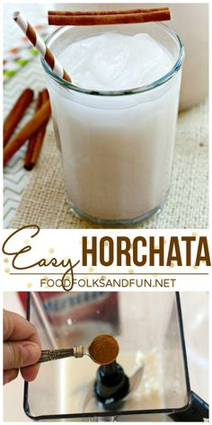 231 Best Horchata Drink Images Delicious Food Beverages Yummy Food