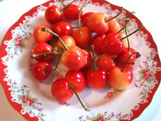 Rainier Cherries by Happy Zombie
