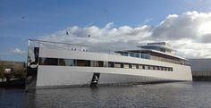 Unveiled: Steve Jobs' Luxury Yacht, Designed with Phillipe Starck