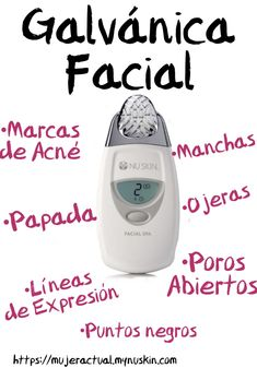 Nu Skin, Galvanic Spa, Beauty, Spa Facial, Acne Marks, At Home Spa, Skin Products, Stains, Make Up