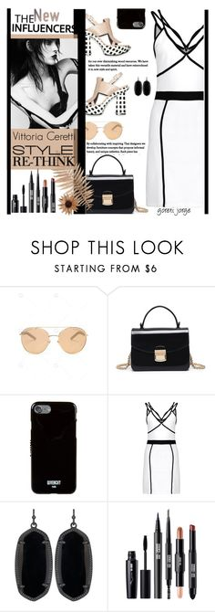 """Vittoria Ceretti - Model Style - Gamiss.com"" by goreti ❤ liked on Polyvore featuring Black Swan, Givenchy and Kendra Scott"