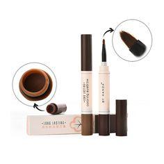 Impermeable lápiz de cejas Crema Tinte De cejas maquillaje definidor Eyebrow