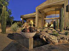 Desert retreat at this Scottsdale, Arizona home