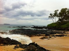 Secret Cove. paako beach. just south of big beach (makena beach) south shore.
