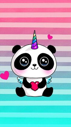 Panda Unicorn Total 100 Adrenalina Pandas Pinterest