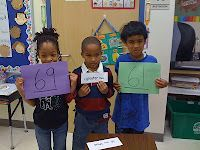 kinesthetically comparing numbers