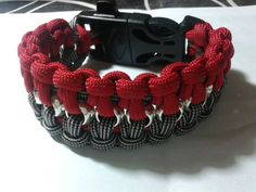 #Hexnut bicolor with #fire #starter #paracord