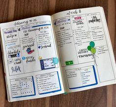 Bullet journal weekly, hand lettering, weekly habit tracker. | @juanitaejohns
