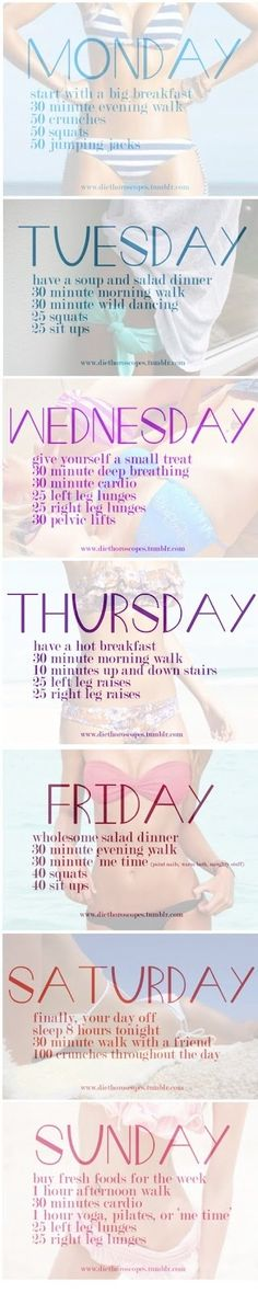Easy 5 day workout plan