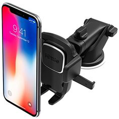 The best hands free phone mount! iOttie Easy One Touch 4 Dashboard & Windshield Car Phone Mount Holder for iPhone Xs Max R 8 Plus 7 SE Samsung Galaxy Edge Note 9 & Other Smartphone Iphone Car Mount, Iphone Car Holder, Cell Phone Holder, Phone Cases, Iphone Phone, Tablet Holder, Smartphone Holder, Rolls Royce, Wood Car
