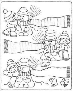Crafts,Actvities and Worksheets for Preschool,Toddler and Kindergarten.Lots of worksheets and coloring pages. Tracing Worksheets, Kindergarten Worksheets, Worksheets For Kids, Winter Activities, Preschool Activities, Winter Theme, Winter Sports, Coloring Pages, Crafts For Kids