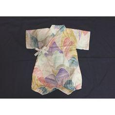 beautiful printed baby kimono. #designer #baby #fashion