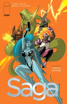 """Saga #29. It's like Brain K Vaughan watched Game of Thrones an said """"I can have a bigger body count then that."""" Great issue, as always. Read 07/15/15"""