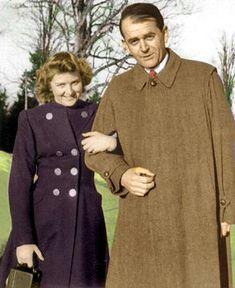 Eva Braun and Albert Speer by Stuka1911.deviantart.com on @deviantART