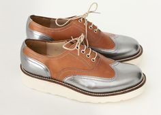 Women's wing-tip brogues G Lab by Grenson: Made in Britain's new wave - Telegraph
