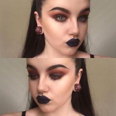 WEBSTA @ layla.mua - 🌚🌚🌚--------#glow #illamasqua #illafam #illamafia #makeup #mua #limecrimemakeup #muasworldwide #makeupjunkie #makeupsrtist #undiscoveredmuas #underratedmuas #smokeyeye #highlight #navylips #fakefreckles #costume #blush #muasworldwide #narssisist #venuspalette #kayteellen #mannymua #makeupaddict #jeffreestar #adelaidemakeupartist #nikkietutorials #maccosmetics #featuredmuas #michellemoe #gloss