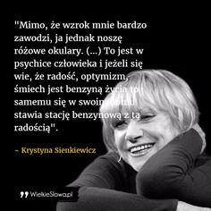 Mimo że wzrok mnie bardzo zawodzi... #Sienkiewicz-Krystyna,  #Nadzieja-i-optymizm