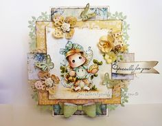 Hi, I hope youve had a lovely week. Todays card is one I made just for fun. Im loving...