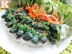 Cách làm món bún lươn nướng lá lốt ngon và lạ miệng - http://congthucmonngon.com/124913/cach-lam-mon-bun-luon-nuong-la-lot-ngon-va-la-mieng.html