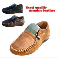 spring Autumn new 2014 fashion Genuine Leather children flat shoes kids sneakers for boys free shipping US $27.99 - 30.99