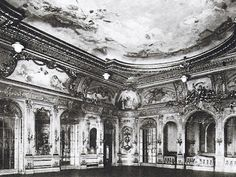 Cornelius Vanderbilt II Mansion. NYC. The Ballroom had walls that could be expanded to create an even larger space.