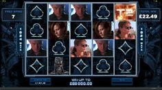 TERMINATOR 2 Cyberdyne Systems Model 101 has a new mission. And it's going to be every inch the blockbuster. Expect sparks to fly in this spectacular five-reel, 243 ways-to-win online slot.You can find it at CasinoRewardsGroup. Win Online, Online Casino, System Model, Table Games, Slot, Photo Wall, Wine, Movie Posters, Role Playing Board Games