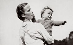 'A Happy Mother, a National Socialist Ideal', photograph published in 1936.  Nazi Bride Schools.