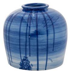 Blue Swipe Jar #weylandts #entertaining Weylandts, Jar, Hand Painted, Entertaining, Blue, Home Decor, Decoration Home, Room Decor, Jars