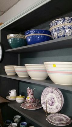 McCoy Bowls set of 3 for $57.50. Set of 2 small bowls for $20.00