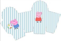 Peppa Pig: cajas para imprimir gratis.