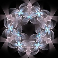 fractal wreath | Direction by =ladycompassion |Pinned from PinTo for iPad|