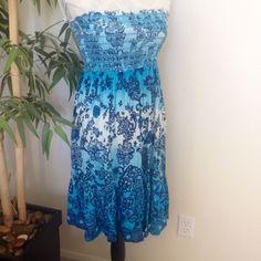 Smock Top Dress/Skirt