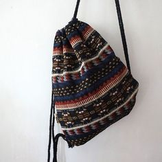 New 2017 Vintage Gypsy Bohemian Tribal Backpack with String Cowgirl Outfits, Hippie Outfits, Cowgirl Clothing, Cowgirl Fashion, Bohemian Fashion, Vintage Backpacks, Girl Backpacks, Hippie Style, Hippie Boho