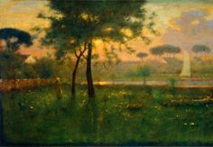 George Inness, Morning