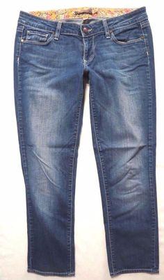 Paige Denim size 27 Venice Slim Crop Low rise Medium light wash Womens jeans #PaigeDenim #CapriCropped