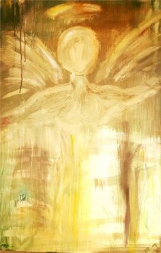 Angel of Light by Carrie Kohan Carrie, Carry On, Angel, Artwork, Painting, Work Of Art, Hand Luggage, Auguste Rodin Artwork, Carry On Luggage