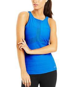 Look at this #zulilyfind! Capri Blue Giselle Excel Mesh Tank #zulilyfinds