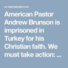 It Matters To Me, Take Action, Christian Faith, Turkey, Politics, American, Health, Pastor, Turkey Country