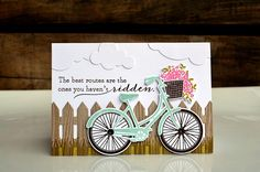 Hey, there, folks! Papertrey Ink& May release :) {As with every PTI release, all of the brand new products . Bicycle Cards, Petal Pushers, Stamping Up Cards, Scrapbook Cards, Scrapbooking, Tampons, Card Sketches, Cool Cards, Creative Cards
