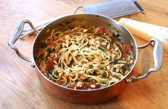 Culy Homemade: one pot pasta (spaghetti met tomatensaus in één pan)