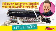 Gewinnspiel Guido Maria Kretschmer Stoffpaket Simply Nähen 0616