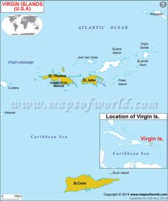 #VirginIslands political map