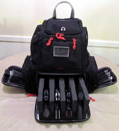Have this one...it is PERFECT.  Holds everything I need...is rugged...the best range bag ever.