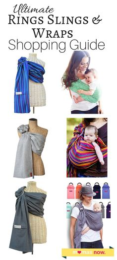 Babywearing gives you freedom to go through your daily routine, while your baby is happy and safe. A ring sling is great for bonding with your baby, for moms and dads. But how to choose the right one? A simple shopping guide and reviews of the most popular ring slings and wraps: http://mamasnow.com/best-ring-slings/ http://mamasnow.com/best-ring-slings/