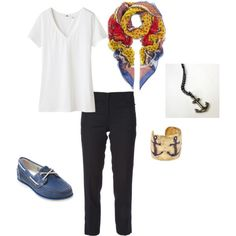 I Hear the Beaches in New England are Nice, created by missmarissashley on Polyvore
