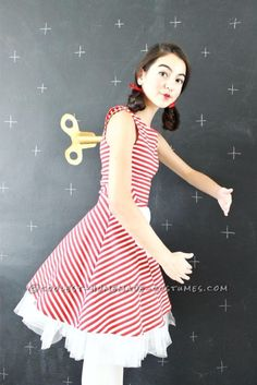 Best DIY Halloween Costume Ideas - last-minute-diy-wind-doll-costume - Do It Yourself Costumes for Women, Men, Teens, Adults and Couples. Fun, Easy, Clever, Cheap and Creative Costumes That Will Win The Contest http://diyjoy.com/best-diy-halloween-costumes