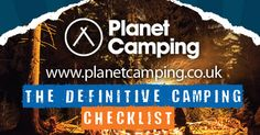 Do you have everything you need for your next #camping trip? Take a look at this blog post to find out! #fun #outdoors #familyfun #festivals #campingchecklist