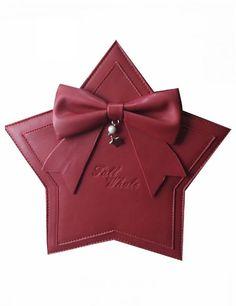 Whale Fall -The Praise of Stars- Star Shaped Christmas Themed Lolita Bag